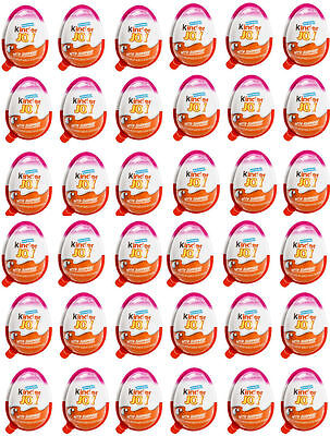 70 x Kinder Joy Eggs GIRLS Choclates Surprise GIFT Inside Fun Exciting toys