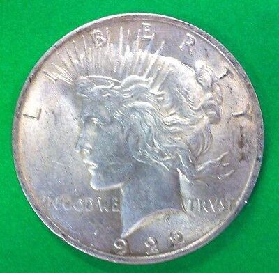1922 P Peace Silver Dollar Great Coin # 122