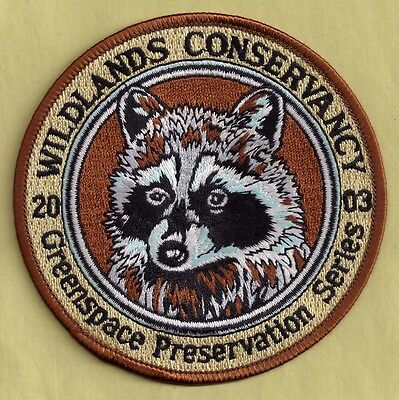 Pa Pennsylvania Fish Game Commission 2003 Wildlands Conservancy Raccoon Patch