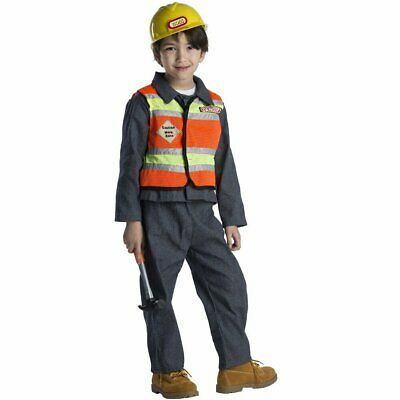 Kids Construction Worker Costume By Dress Up America