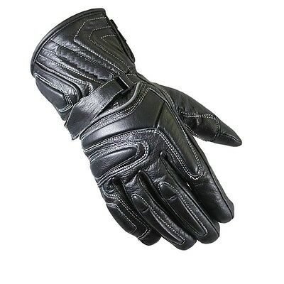 Leather Waterproof Winter Thermal Motorbike Motorcycle Gloves