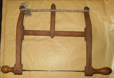 Vintage Bow Saw - Marked 1917  - As Photo
