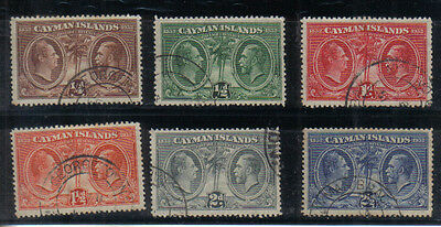 Cayman Islands 1932 Centenary set to 2 1/2d used