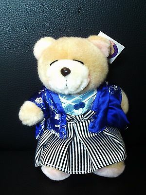 """Forever Friends Small Teddies 7"""" - Geisha Girl And Korean Girl New With Tags"""