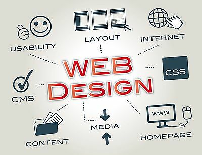 Professional Web Design - Custom Mobile Friendly Websites - Domain & Hosting!