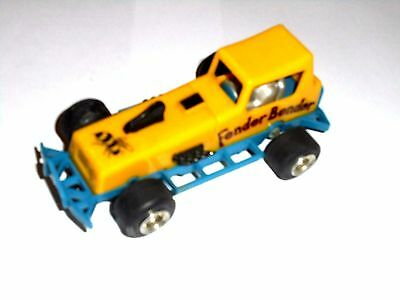 slot 1/32 SCALEXTRIC C286 SUPERSTOX FENDER BENDER YELLOW/BLUE NEW NO BOX