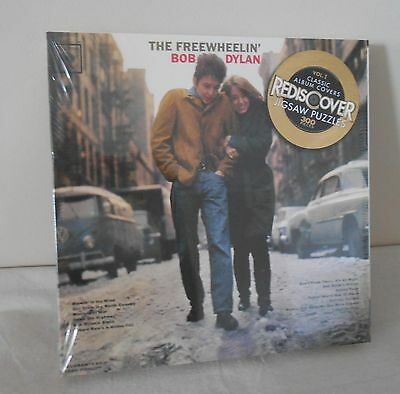 THE FREEWHEELIN' BOB DYLAN double sided CLASSIC Album Cover PUZZLE *NEW* Rock