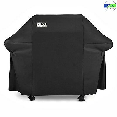 Large Gas Grill Cover Fabric Heavy-Duty Waterproof Broiler BBQ Outdoor Protector