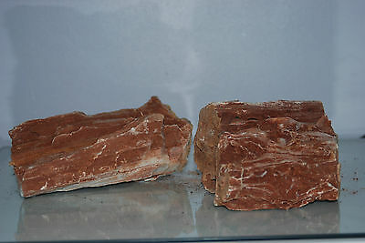 Natural Aquarium Redwood Lines Rock x 2 Pieces Suitable for Aquariums 4A