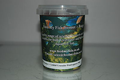 Cichlid Granular Fish Food Suitable For All Cichlids 520ml Tub Approx 300g