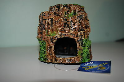 Aquarium Rock Cave Face Decoration 12 x 10 x 12 cms Suitable For All Aquariums