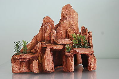 Aquarium Large Arizona Rock Ornament  25x14x21 cms Suitable for all Aquariums