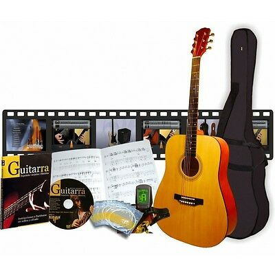 Pack guitarra acustica de 6 productos