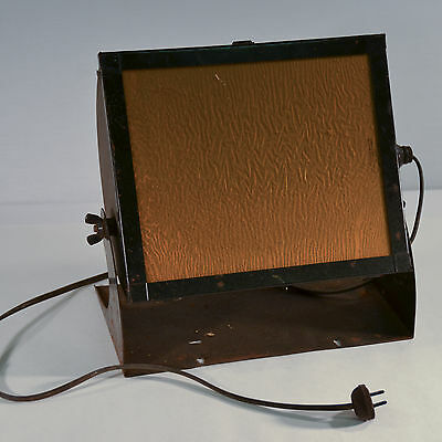 Vintage Kodak Utility Safelight Lamp Model C - Tested Fully Functional