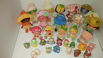 vintage Strawberry Shortcake lot