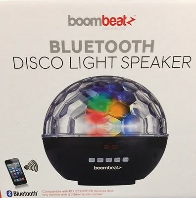 Bluetooth Disco Ball Speaker with LED Light Show iphone mobile ipod XMAS NEWYEAR