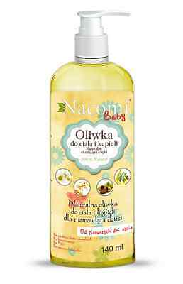 Natural baby oil skin care bath EcoBeautique Organic Natural Skincare Products