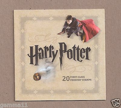 Us Stamp Booklet Harry Potter Forever Stamps Mint Unused New