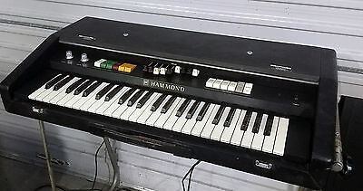 vintage Hammond organ rare portable X-2 with stand & foot pedal 70's