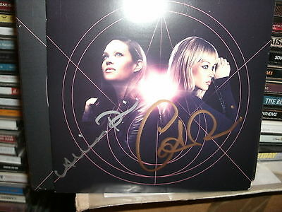 The Pierces,creation,signed By Both,signed Cd
