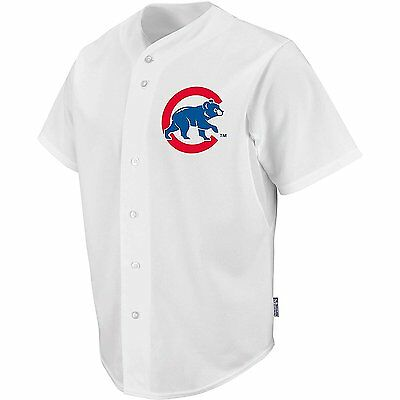 Majestic Adult Mlb Chicago Cubs Cool Base Pro Style Game Jersey