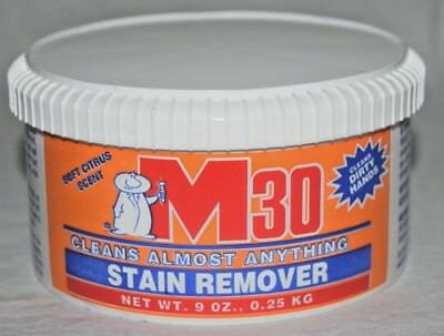 M30 Hand Cleaner 10 oz Lanolin and Aloe *CLEANS ANYTHING WASHABLE* Made In USA