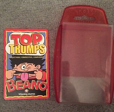 Top Trumps Beano Complete with case Winning Moves