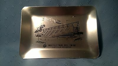 1982 World's Fair Knoxville Tennessee United States Pavilion Souvenir Metal Tray
