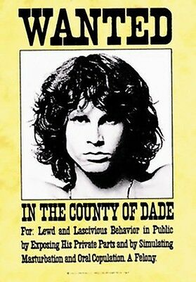 Jim Morrison Wanted Poster Flag The Doors Tapestry