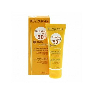Bioderma Photoderm Max Aquafluide Spf 50+ Teinté 40 Ml
