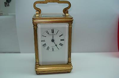 Tiffany and Co Antique 8 Day Carriage Clock Platform Escapemnt  Serviced