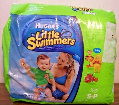 Huggies Little Swimmers Size SP 16-26lbs  20 Count