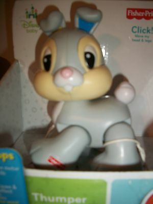 Disney Fisher Price Thumper 6-36 Mos. New in Packaging
