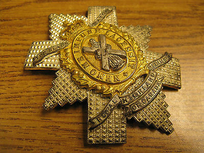 The Black Watch Royal Highland Regiment of Canada multi-piece Plate Badge c1960?