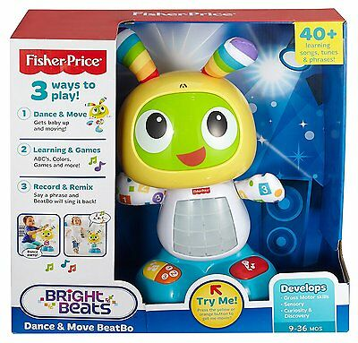 Fisher Price Bright Beat Dance And Move BeatBo Music Record & Play Baby Toddler