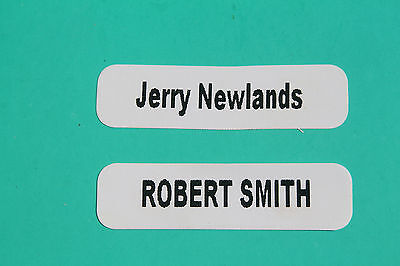 Personalised Name Labels Tags 30 Iron On Plus Free Shoe Labels Ideal For Schools