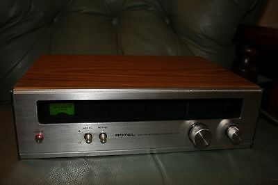 Vintage Rotel RT-322 AM/FM Stereo Tuner Wooden Radio