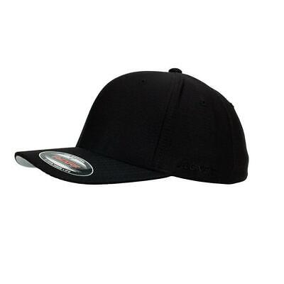 FLEXFIT PERMA CURVE CAP Black 6277 NEW FLEX FIT CAP AUST HAT HATS CAPS