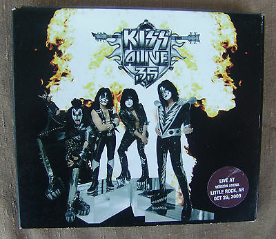 KISS Alive 35 2009 Concert Online OOP Ltd Edition CD Little Rock AR 10/29 10TRK