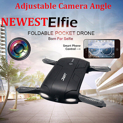 JRC H37 Altitude Hold HD Camera WIFI FPV RC Quadcopter Selfie Foldable Drone LOT