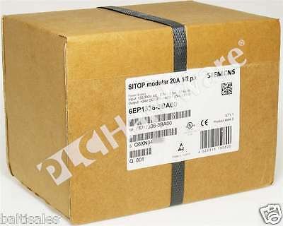 New Sealed Siemens 6EP1336-3BA00 6EP1 336-3BA00 SITOP Power Supply 20A/24VDC Out