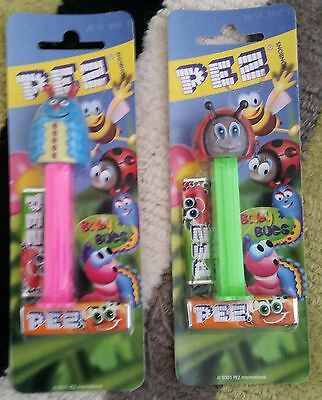 "Pez Dispensers THAILAND VERSIONS ""BABY BUGS""  SET OF 2 MINT"