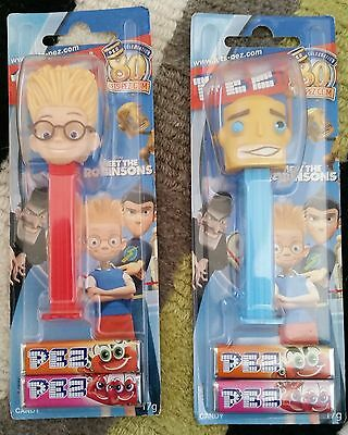 "Pez Dispensers AUSTRALIAN ""MEET THE ROBINSONS""  SET OF 2 MINT"