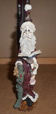 "Boyds Bears & Friends #2802 ""He Making a List""  1996 Limited Folkstone Col."
