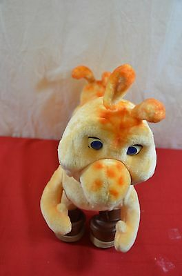 Vintage Grubby Teddy Ruxpin Friend Interactive Talking Toy 1984-85 w/4 Boots 900