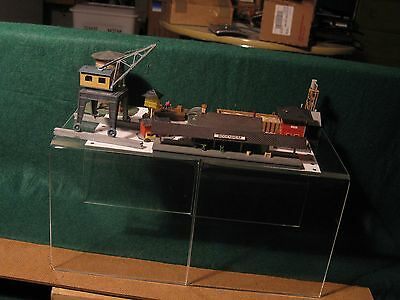 9 N Scale structures Used Good Condition Assembled