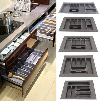 5 Sizes Quality Plastic Cutlery Trays Kitchen Drawers Blum Tandembox Inserts