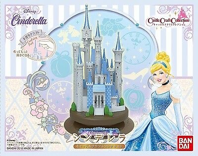 BANDAI Castle Craft Collection Disney Cinderella Plastic Model Kit NEW Japan