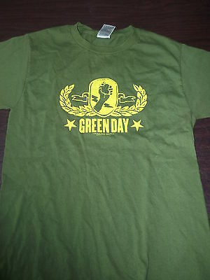 GREEN DAY tour shirt 2005 AMERICAN IDIOT North America Tour