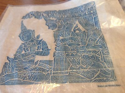 Thailand Temple Rubbings on Rice Paper